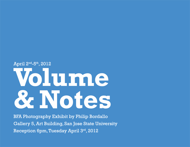 Philip Bordallo - Volume & Notes